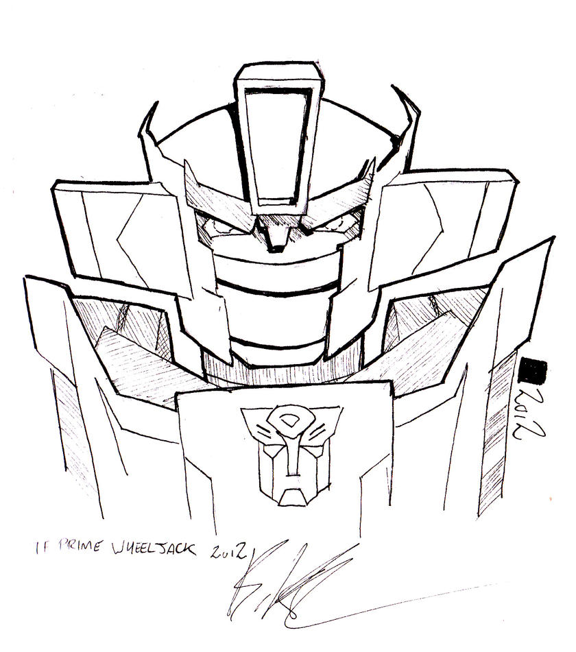 Transformers wheeljack g1 pages coloring pages for Transformers g1 coloring pages