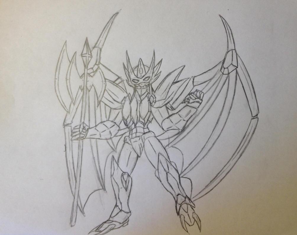 cyborg crusader 2 sketch by vivere-sectam129