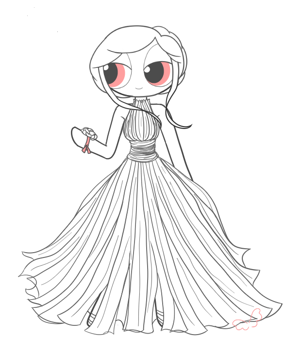 Blossom\'s Prom Dress (More Than Human) by BornToSpreadMyWings on ...