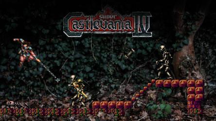 Super Castelvania - Simon in the Woods