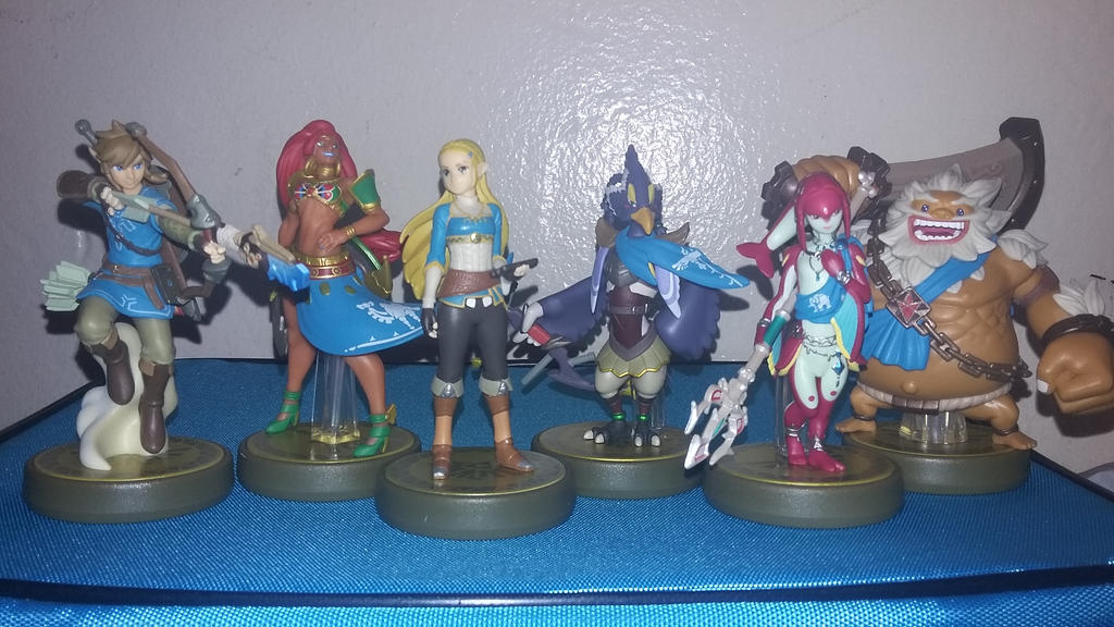 Hyrule Champions Amiibo by animehero64 on DeviantArt