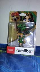 Young Link Amiibo  by animehero64