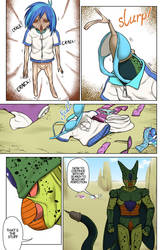 Cell absorbs Vinyl Scratch by o0Anoni-chan0o (3/3) by animehero64