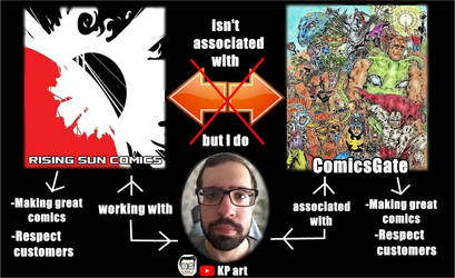 I Love Both  #ComicsGate And My Publisher.