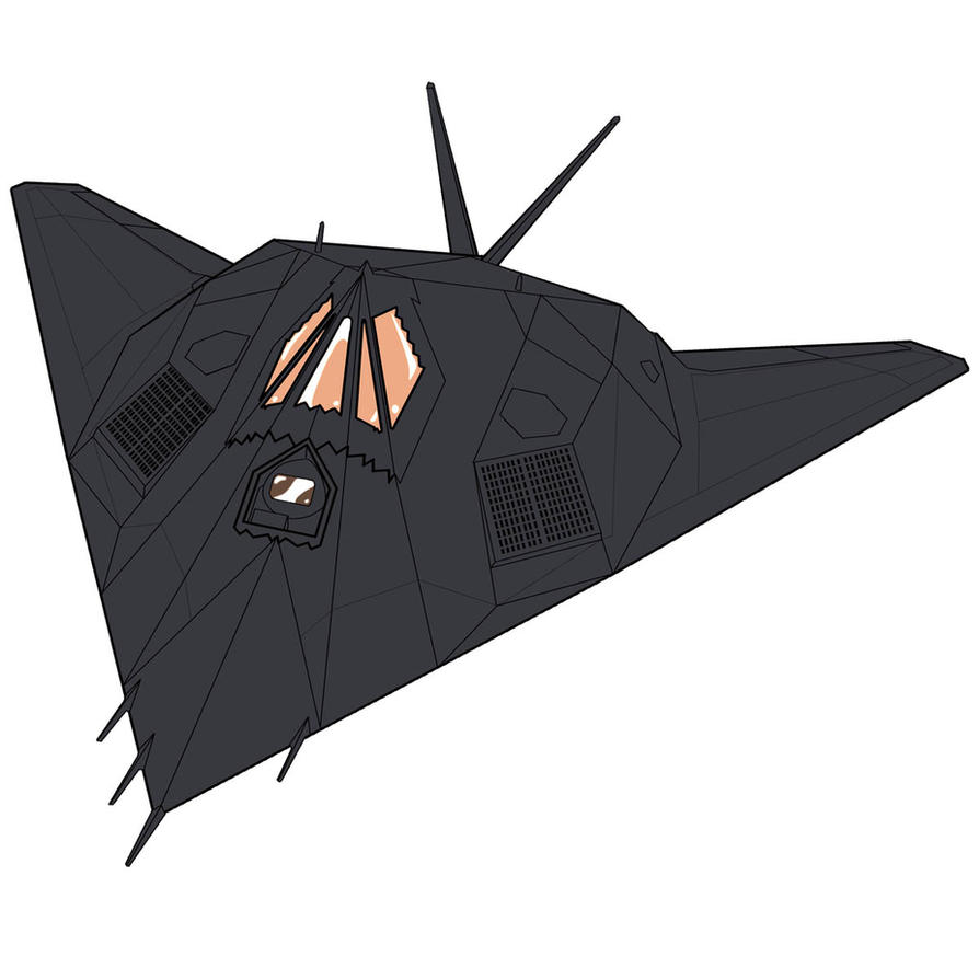 F-117 Nighthawk by anthrokidnapper