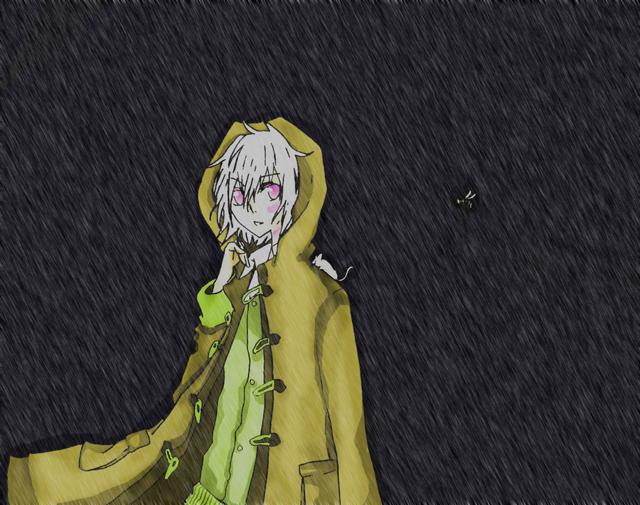 Rainy Night Outside of No. 6 by WahrheitTiasheRaggs