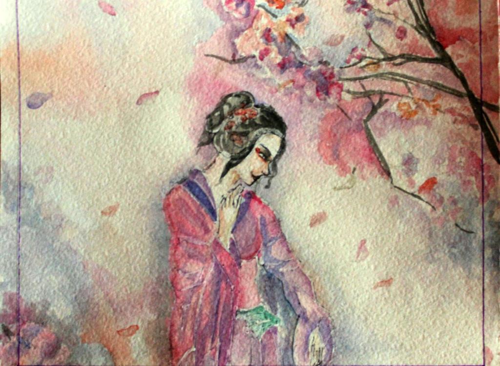Noon Sakura by Angelina-W