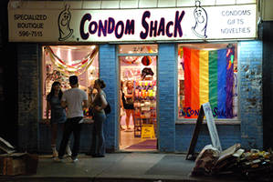 Down At The Condom Shack by PaulMcKinnon