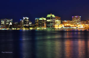Halifax at Night by PaulMcKinnon