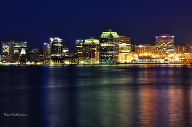 Halifax at Night by PaulMcKinnon