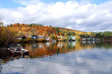 Autumn Village by PaulMcKinnon