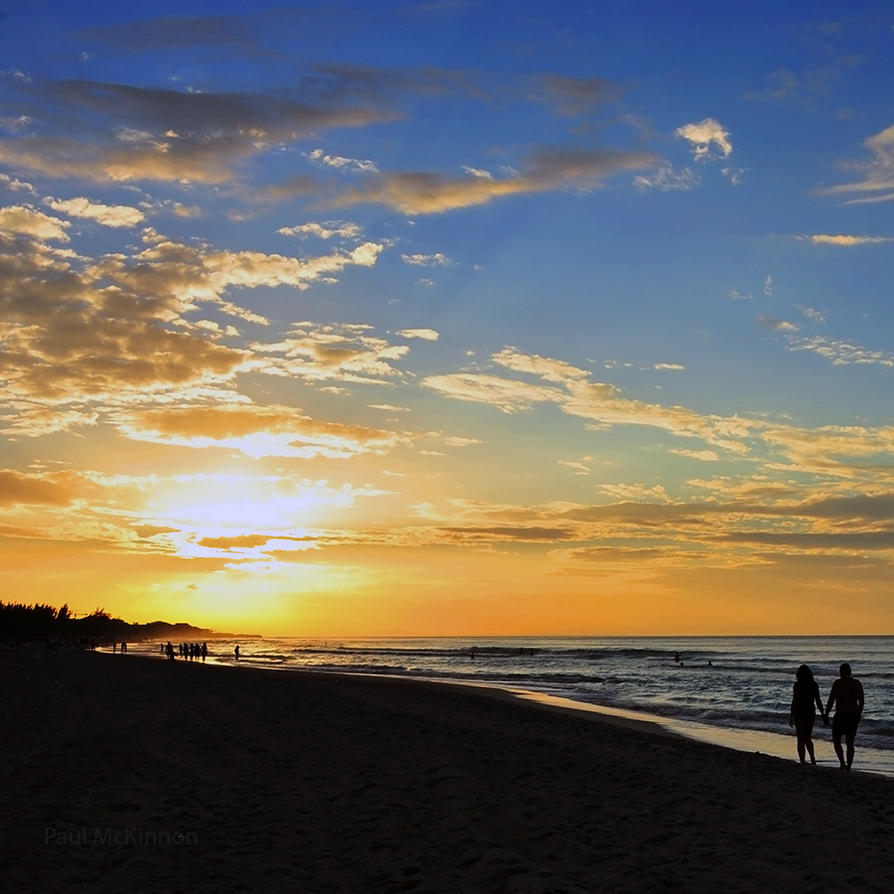 Walking off into the Sunset by PaulMcKinnon