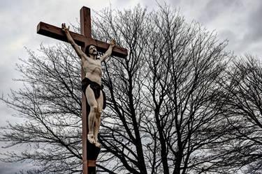 Crucifix by PaulMcKinnon