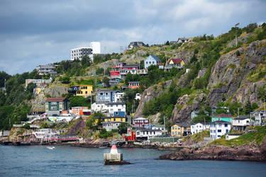 Battery Neighbourhood in St. John's, Newfoundland by PaulMcKinnon
