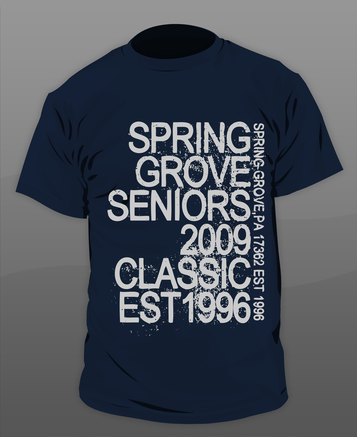 Classroom T Shirt Design ~ Senior class tshirt design by gkgfx on deviantart