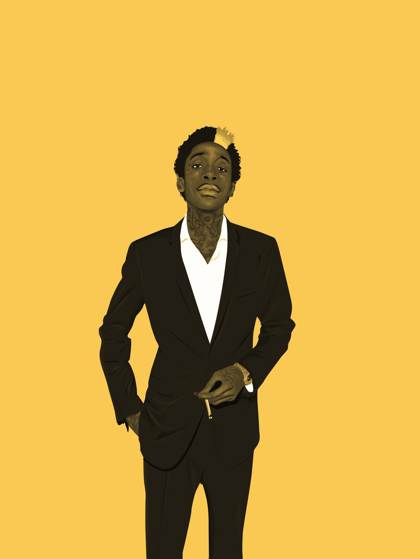 Wiz Khalifa Vector By GKgfx
