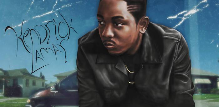 Kendrick Lamar Painting