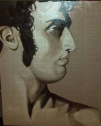 Ingres Masters Study Underpainting