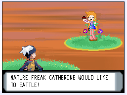 Catherine would like to battle by Squidey