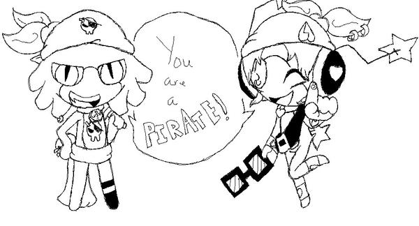 :RQ: You Are A Pirate 8D by eclipsethewolf