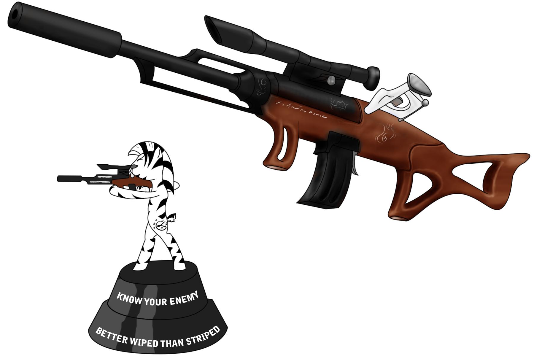 Zebra Rifle