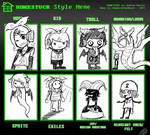 Homestuck Style Meme - Rin K.