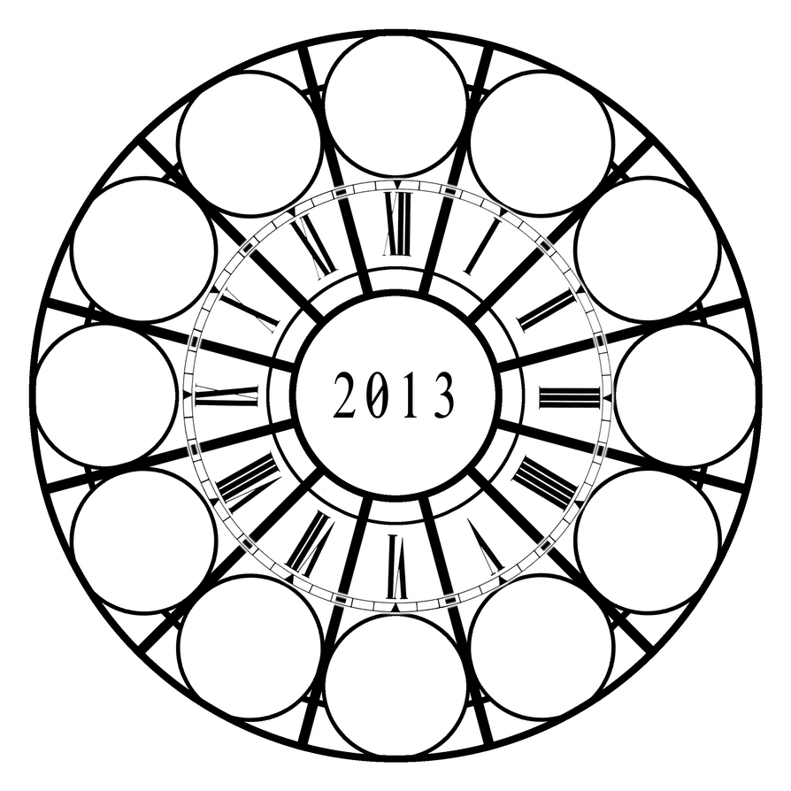 2013 Art Clock Meme by roika-elfili