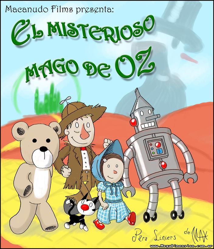 El Misterioso Mago de Oz  Color by megawackymax on DeviantArt