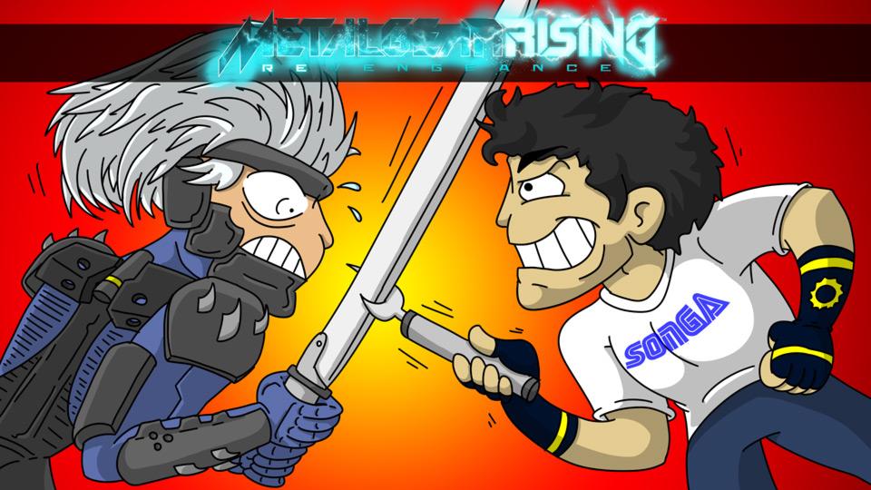Shingo Review: Metal Gear Rising by megawackymax
