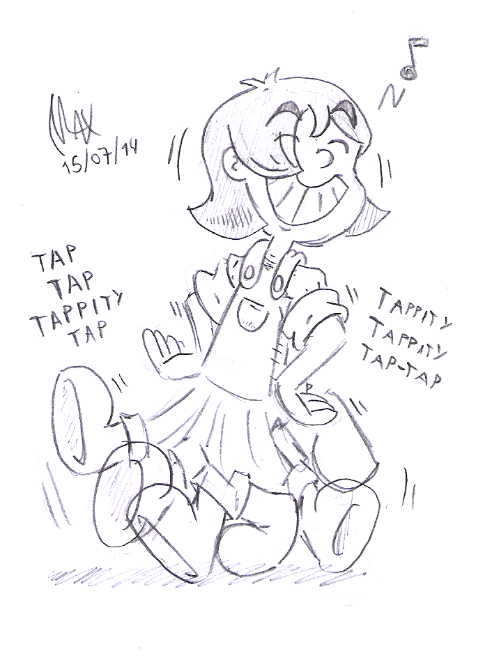 The Tap-Dancing wonder by megawackymax