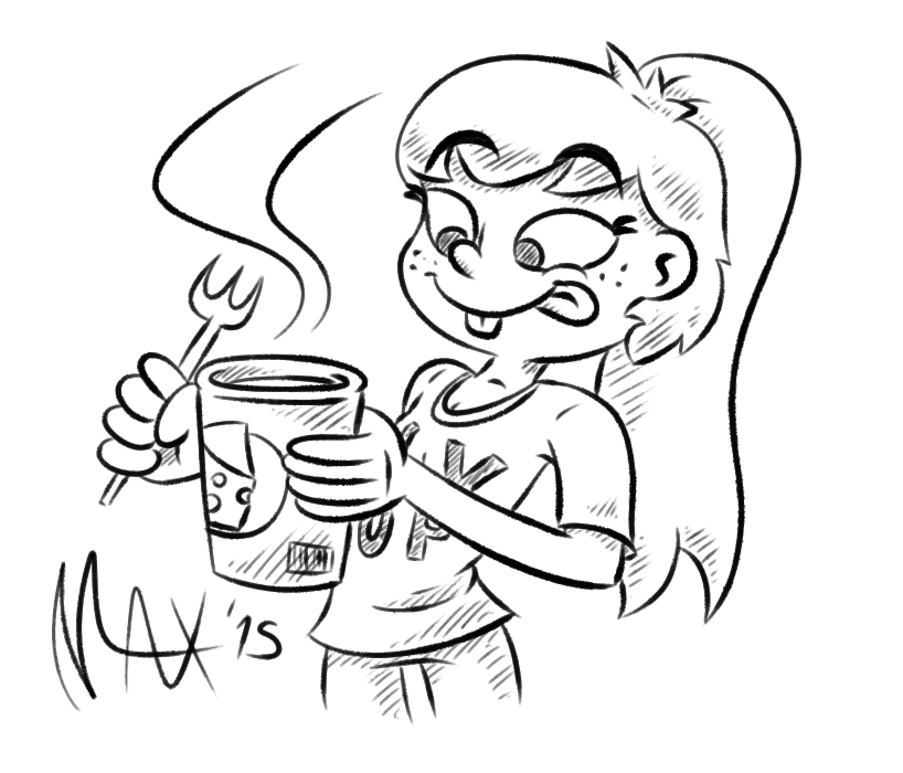 Loving that Instant Cheese Soup by megawackymax