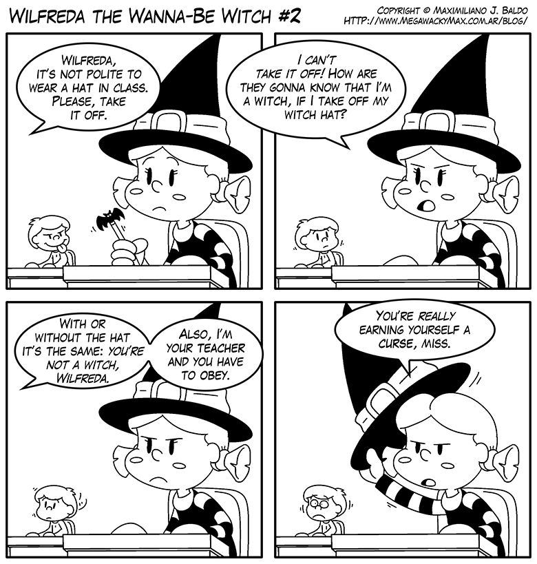 Wilfreda the Wanna-Be Witch e2 by megawackymax
