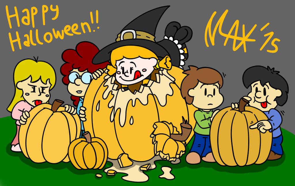 Pumpkin patch by megawackymax