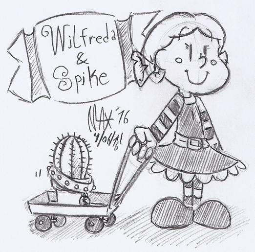 SKETCH - Meet Spike by megawackymax