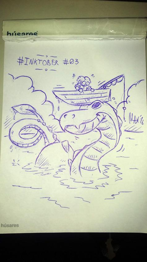 Inktober 2016 03 by megawackymax