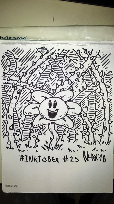 Inktober 2016 25 by megawackymax