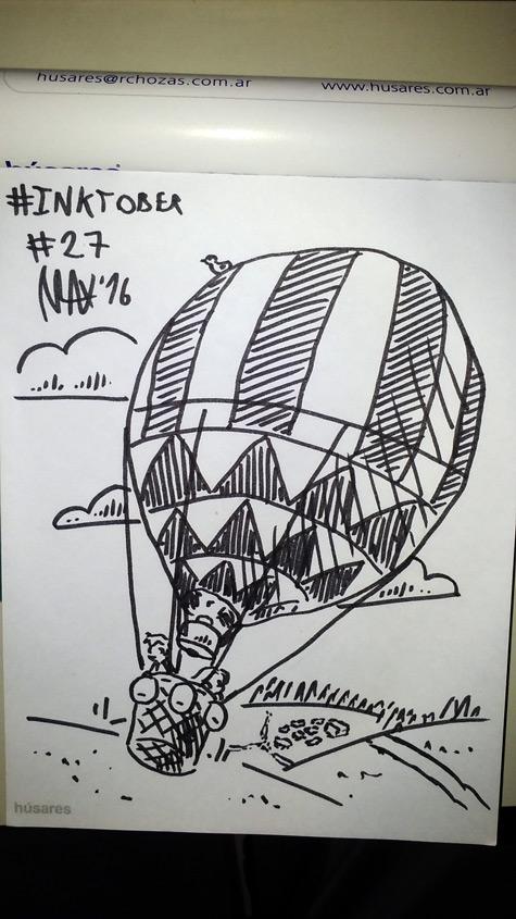 Inktober 2016 27 by megawackymax