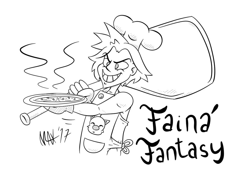 Faina Fantasy by megawackymax