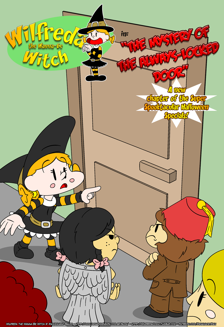 Halloween 2017 - P.0 - Cover by megawackymax
