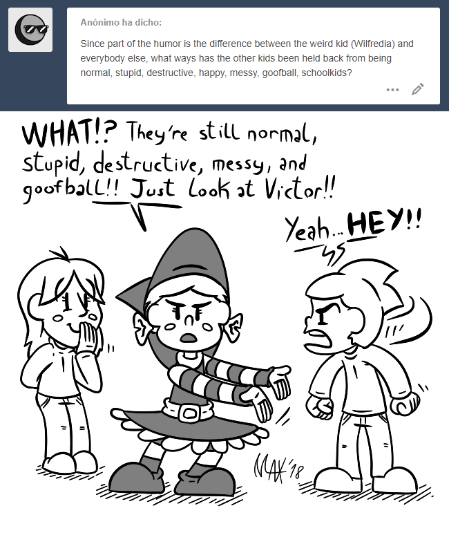 Ask Wilfreda - Normal kids by megawackymax