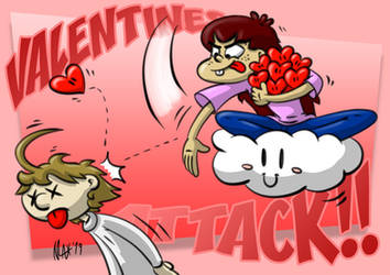 VALENTINES ATTACK!! by megawackymax