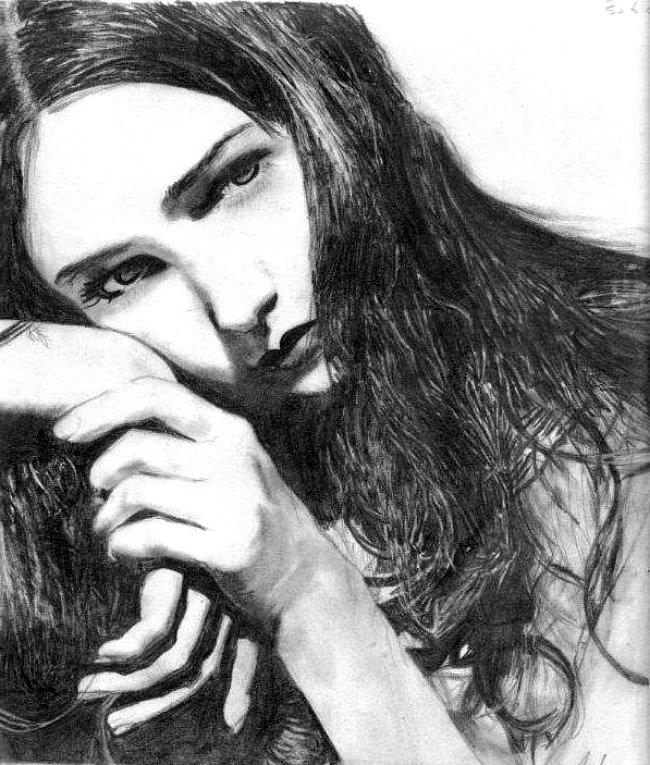 Serious Girl by lemonlime83