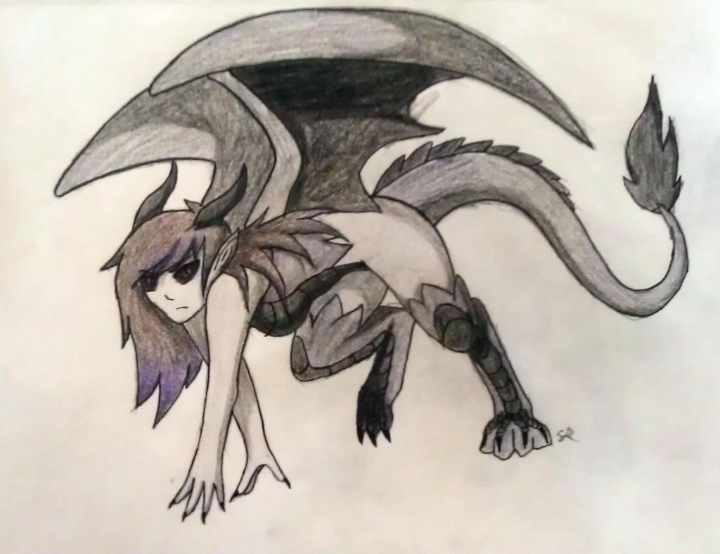 My Demon/Dragon form by Tepinga on DeviantArt