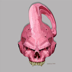Vector Buu skull by TJBisse1994