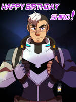 Happy Birthday Shiro!!!!!!! by LilCinnamonRollMama