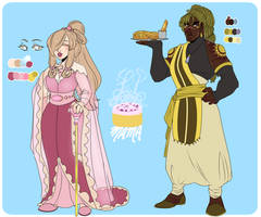 CONTEST ENTRY: Mr. and Mrs. Anor by LilCinnamonRollMama