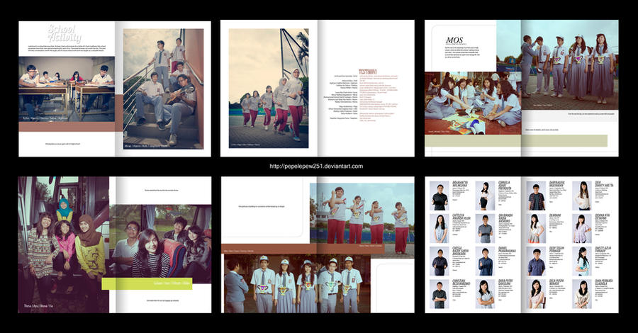 Yearbook Layout 2011 by pepelepew251 on DeviantArt
