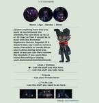 | Nightmare Bonnie Box Code | F2U Non-Core | by Sleepy-Winq