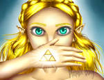 Zelda (BotW) by Pheonix-Blitz