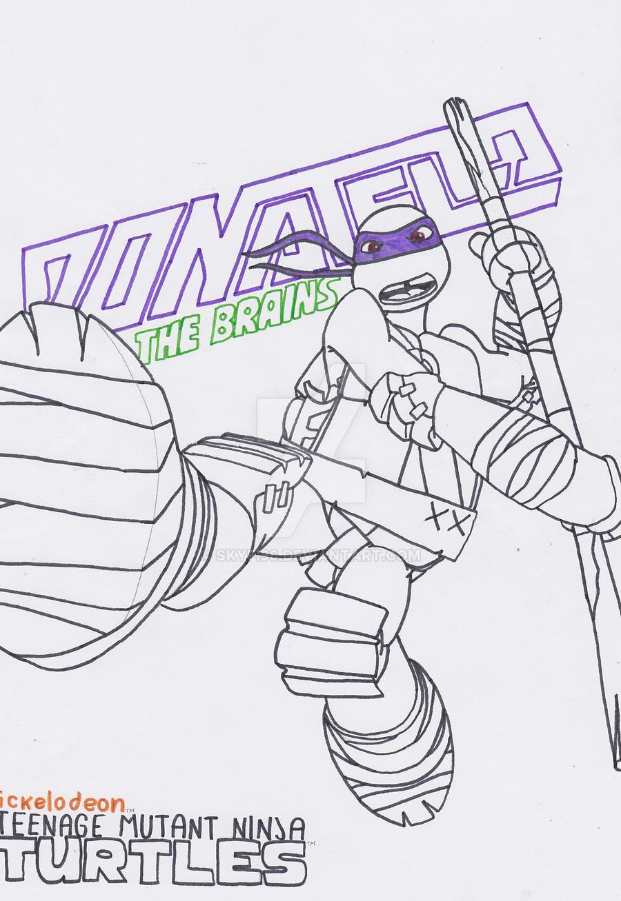 tmnt coloring pages raph 2012 - photo#10